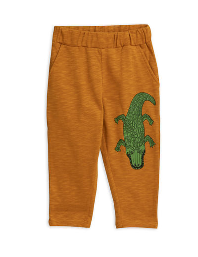 Mini Rodini - Crocco sp sweatpants, Brown