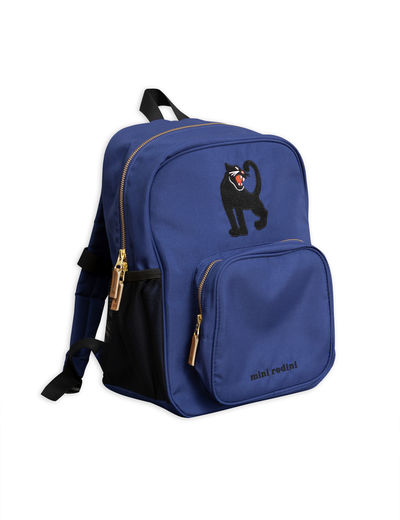 Mini Rodini - Panther school Bag, Blue