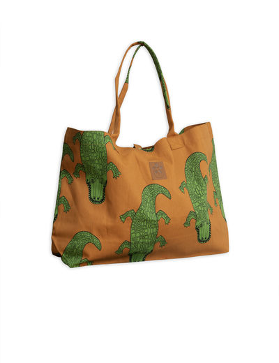 Mini Rodini - Crocco beachbag, Brown
