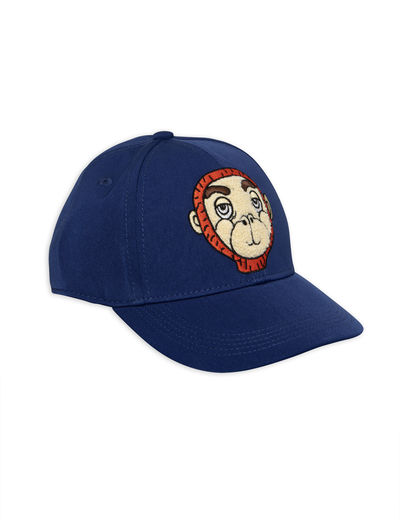 Mini Rodini - Monkey cap, Blue