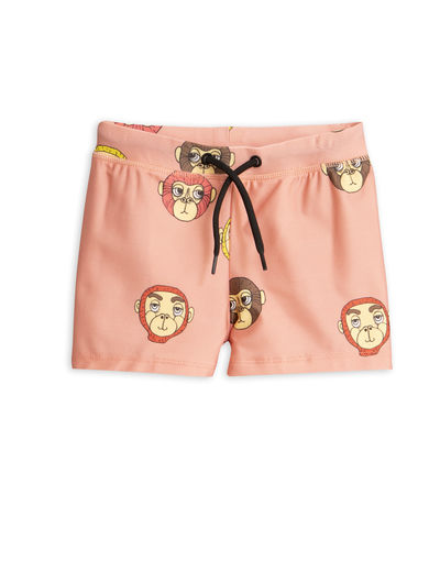 Mini Rodini -  Monkey swimpants, Pink