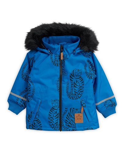 Mini Rodini - K2 Tiger Parka, Blue