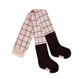 Papu - TIGHTS, Heather pink, Black