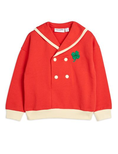 Mini Rodini - Sailor sweatshirt, Red