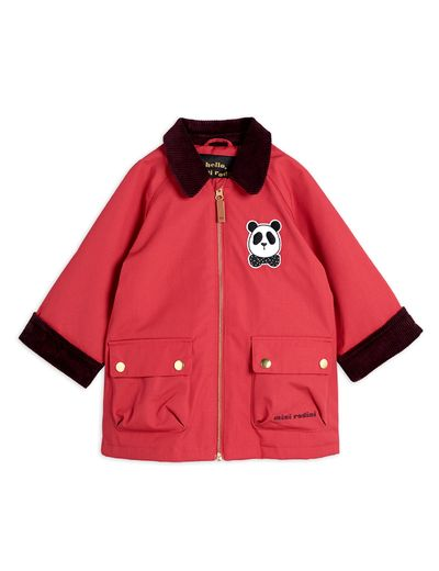 Mini Rodini - Padded country jacket, Red