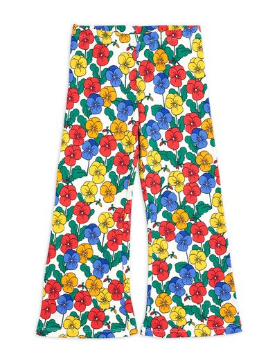 Mini Rodini - Violas flared trousers, Multi