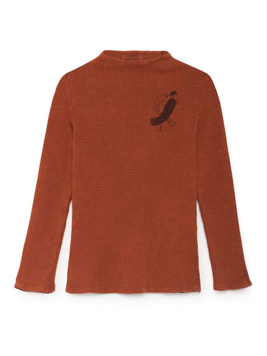 Bobo Choses -Bird Turtle Neck T-Shirt