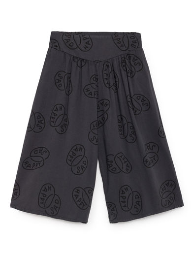Bobo Choses - Happy Sad Flared Culotte Trousers, Multicolour