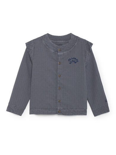 Bobo Choses - Always Never Wings Blouse, Dusty Blue