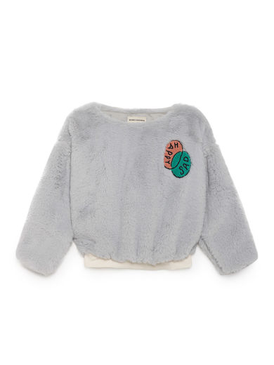 Bobo Choses - Happy Sad Faux Fur Top, High-Rise
