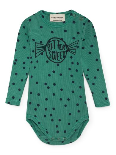 Bitter Sweet Long Sleeve Body, Viridis