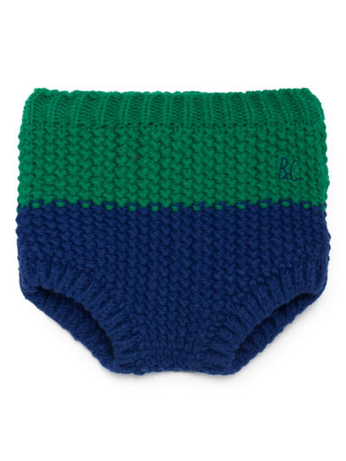 Bobo Choses - Blue Knitted Culotte, Mazarine Blue