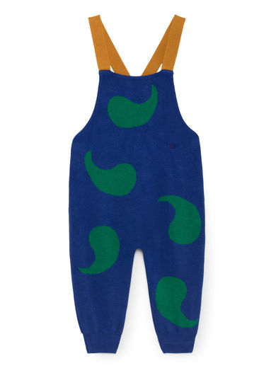 Bobo Choses - Knitted Playsuit, Turkish Sea