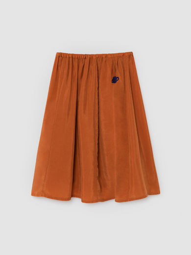 Bobo Choses - Orange Moon Cupro Midi Skirt (219079)