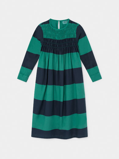 Bobo Choses - Big Stripes Flounce Dress (219092)