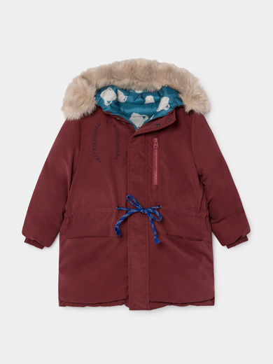 Bobo Choses - Reversible All Over Saturn Hooded Jacket (219101)