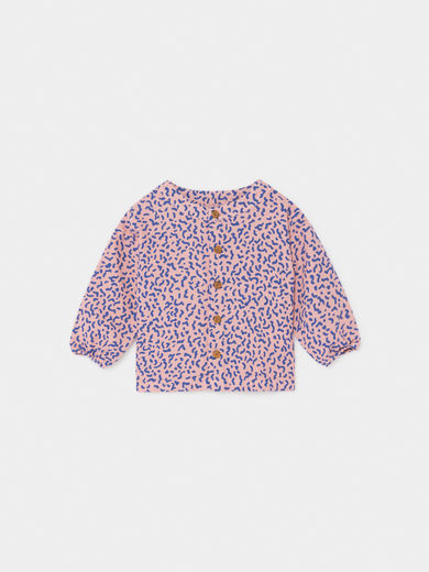 Bobo Choses - All Over Stardust Buttons Blouse, Baby ( 219148)
