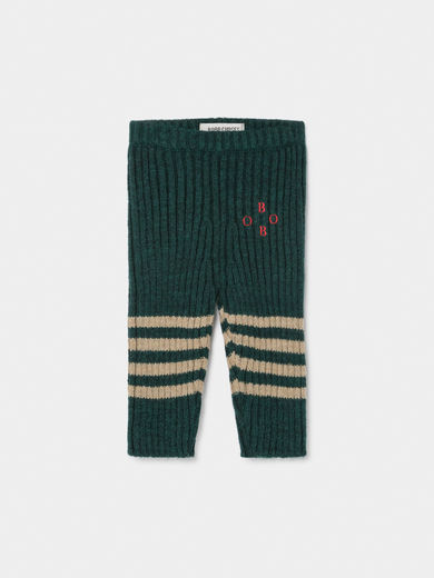 Bobo Choses - Bobo Knee Stripes Knitted Leggings, Baby (219205)