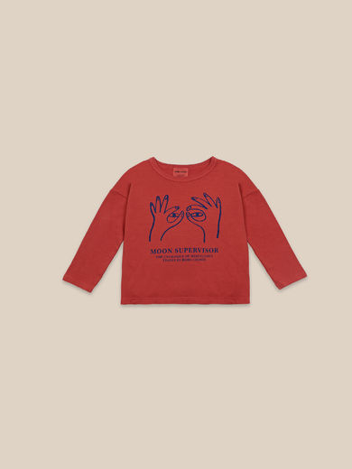 Bobo Choses - Moon Supervisor Long Sleeve T-shirt (22001006)