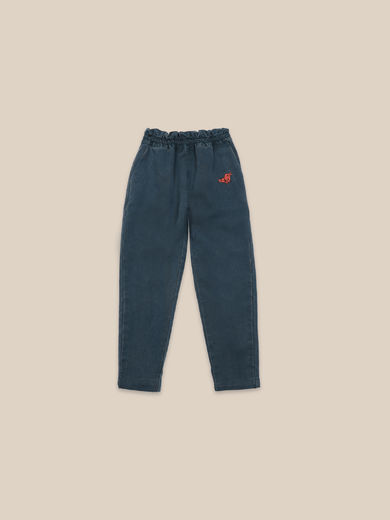 Bobo Choses - Bird Embroidery Woven pants (22001095)