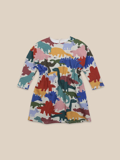 Bobo Choses - Dinos All Over Fleece Dress (22001162)