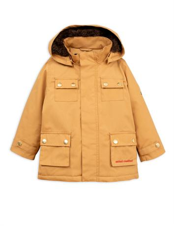 Mini rodini - Duck parka, brown