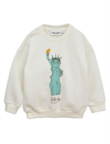 Mini Rodini - Liberty sp sweatshirt, white