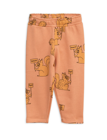 Mini Rodini - Squirrel sweatpants, beige