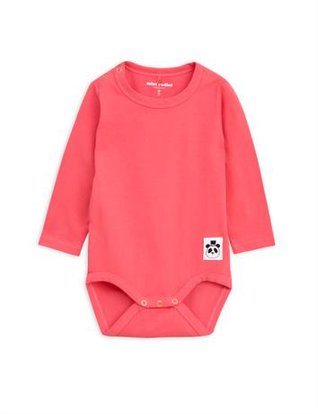 Mini Rodini -  Basic ls body, pink