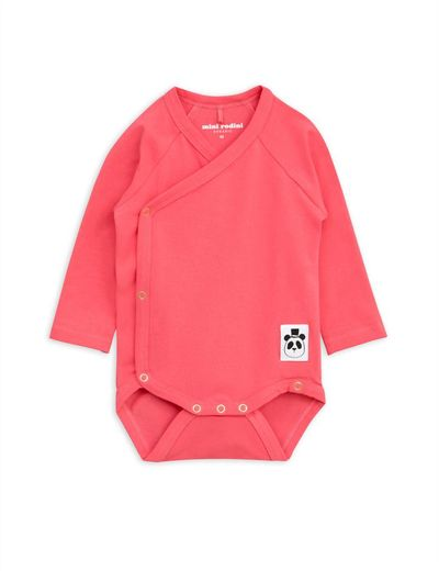 Mini Rodini - Basic wrap body, pink