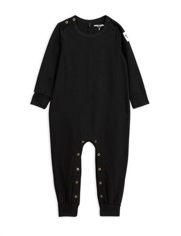 Basic jumpsuit, black
