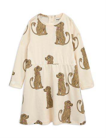 Mini Rodini - Spaniel ls dress, offwhite