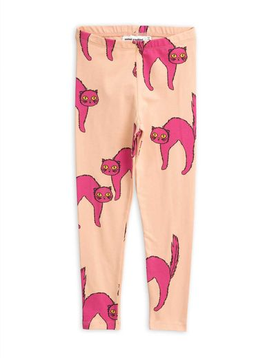 Mini Rodini - Catz leggings, Pink