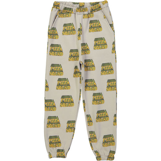 Hugo loves Tiki - 80s sweat pants pizza squad, gray
