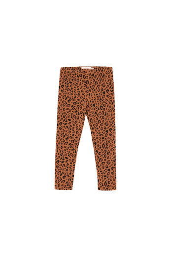 Tinycottons - ANIMAL PRINT PANT, brown / dark brown