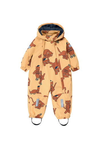 Tinycottons - CATS SNOW ONE-PIECE toppahaalari, sand/brown