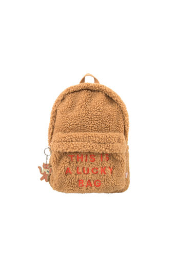 Tinycottons - SHERPA BACKPACK, brown