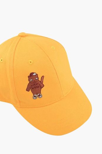 Tinycottons - CAT CAP, yellow/brown