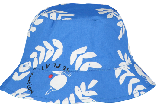 Beau LOves - Ping Pong Club Bucket Hat, Ink Blue