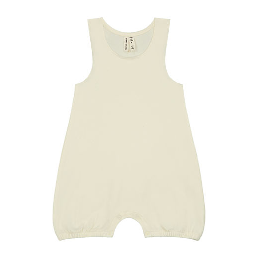 GRAY LABEL - Baby Sleeveless Onesie, Cream (GL-SUI024-CRE)