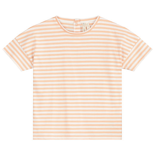 GRAY LABEL - Oversized Tee, Pop / White Stripe (GL-TOP054-PWS)