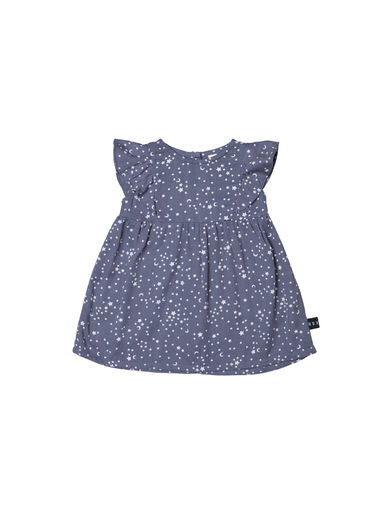 Huxbaby -  STAR TENCEL DRESS, Deep Blue