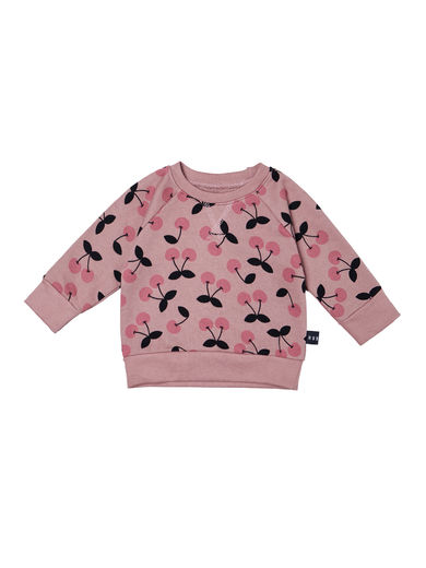 Huxbaby - VERY CHERRY SWEATSHIRT, Berry