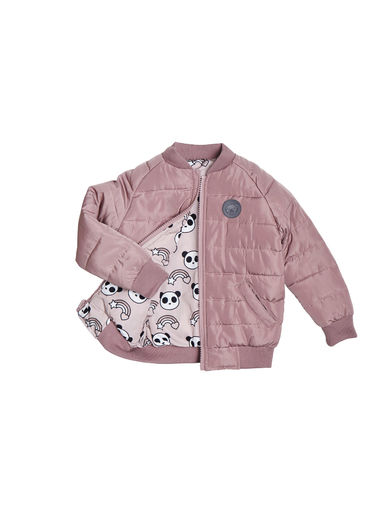 Huxbaby - RAINBOW REVERSIBLE BOMBER, Sugar Berry