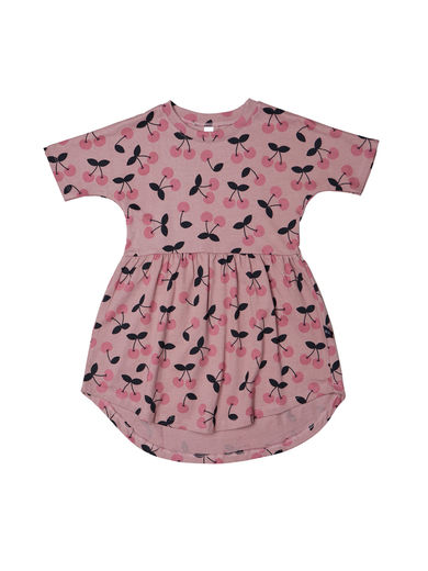 Huxbaby - VERY CHERRY SWIRL DRESS, Berry