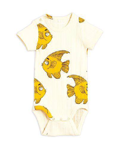 Mini Rodini - Fish body, Offwhite