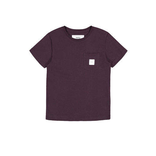 Makia - Pocket T-Shirt, Wine