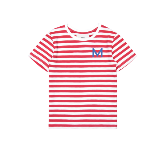 Makia - Shore T-Shirt, Red / White