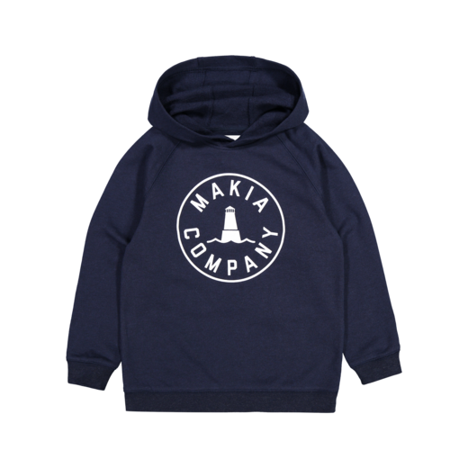 Makia - Astern Hooded Sweatshirt, Navy