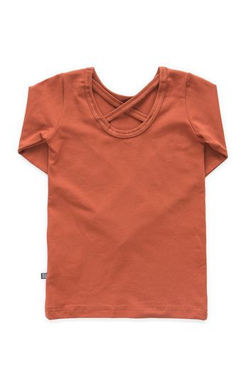 Kaiko - Cross shirt LS, Rust